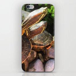 Triple Stack iPhone Skin