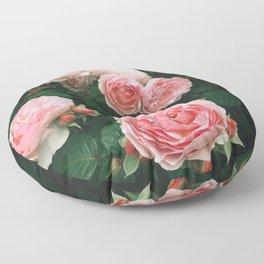Dark Rose Floor Pillow