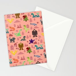 Cryptids of the PNW Stationery Cards