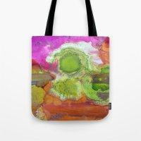 safari Tote Bags featuring Safari by Heather Plewes Art