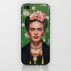 Frida Kahlo Photography I iPhone & iPod Skin