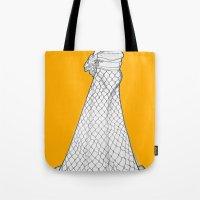 nouveau Tote Bags featuring Nouveau by Madame Mim