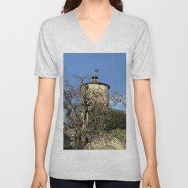 Castella Tower Unisex V-Neck