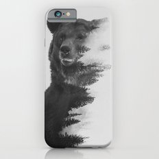 Observing Bear (black & white version) Slim Case iPhone 6s