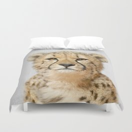 Cheetah - Colorful Duvet Cover