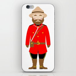 International Police Uniforms & Moustaches iPhone Skin