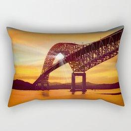 Pan-American Bridge Rectangular Pillow