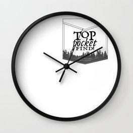 Top Pocket Find - Oak Island Gear Wall Clock