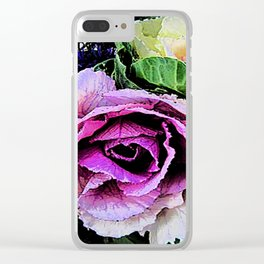 Cabbage Clear iPhone Case