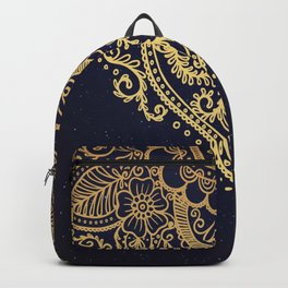 MANDALA IN STARRY NIGHT Backpack