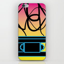 80's problems: VHS iPhone Skin