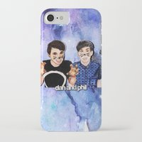 danisnotonfire iPhone & iPod Cases featuring DAN AND PHIL by Share_Shop