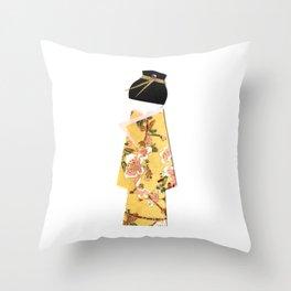 Asano Sun Throw Pillow