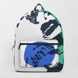 sketch #2-bluegreen Backpack