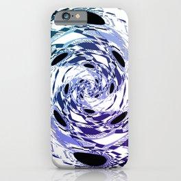 Purple Ombre Daisy Swirl Boho iPhone Case