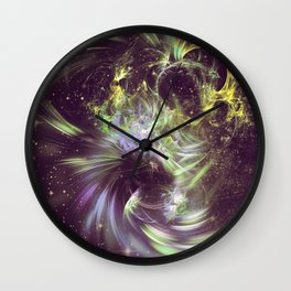 Twisted Time - Black Hole Effects Wall Clock