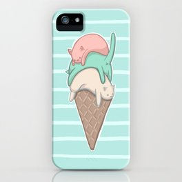 Kitty Cone iPhone Case