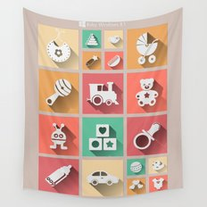 Baby Windows 8.1 Wall Tapestry