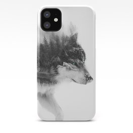 Wolf Stalking iPhone Case