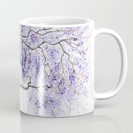 Purple Prosperity Tree Coffee Mug