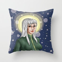 elle in the stars Throw Pillow