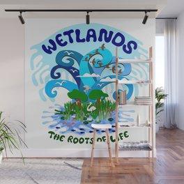 Wetlands Wall Mural