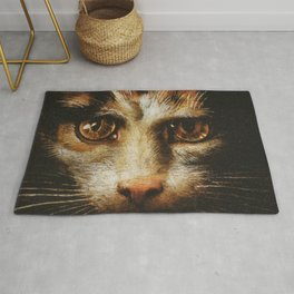 Cat in the art - Giuio Romano – the lady with the cat Rug