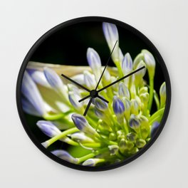 Lily of the Valley 2 Wall Clock