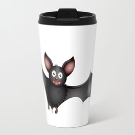 cartoon bat Travel Mug