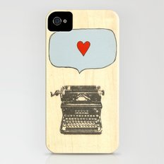 Love Letters iPhone (4, 4s) Slim Case