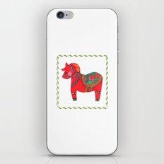 The Red Dala Horse iPhone & iPod Skin