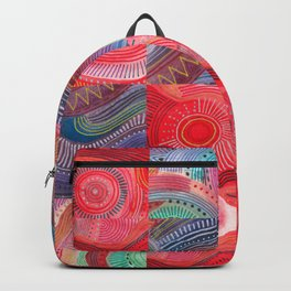 repetitive moments in air Backpack