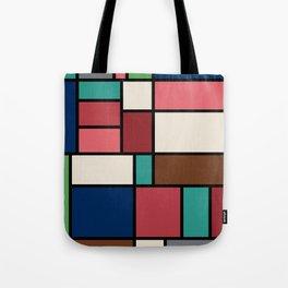 The Colors of / Mondrian Series - Spirited Away - Miyazaki Tote Bag