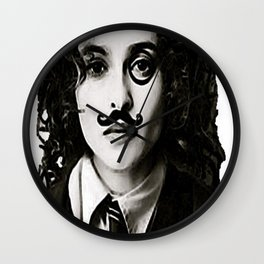 Helena Bonham... Chaplin? Wall Clock