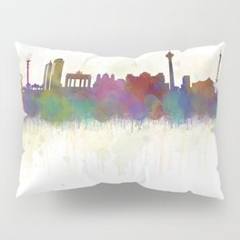 Berlin City Skyline HQ5 Pillow Sham