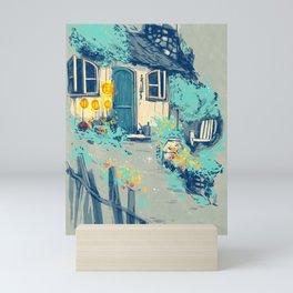 Miss Honey's Cottage Mini Art Print