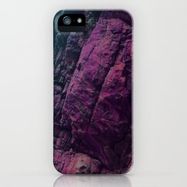 PINK ROCK iPhone Case