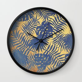 Chicago Gold Wall Clock