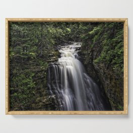 Miners Falls at Pictured Rock National Lakeshore Serving Tray
