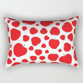 La Gran Manzana vs. The Big Apple Rectangular Pillow