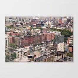 Lower East Side Skyline #2 Canvas Print