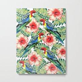 Tropical Bird of Paradise Design Series 2 Metal Print
