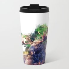 Moose Metal Travel Mug