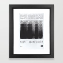 1975 love it if we made it Framed Art Print