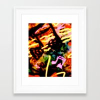 matisse Framed Art Prints featuring Matisse Notes by RIA CURLEY: Limited Edition Digital Art