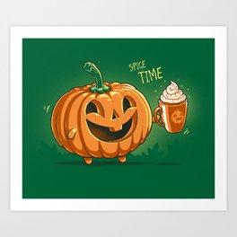 Spice Time Art Print