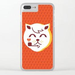 UNDO | ILU Pet Lover series [ tobias ] Clear iPhone Case
