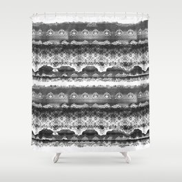 Skull Lace Shower Curtain