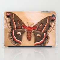 moth iPad Cases featuring Moth by KunstFabrik_StaticMovement Manu Jobst