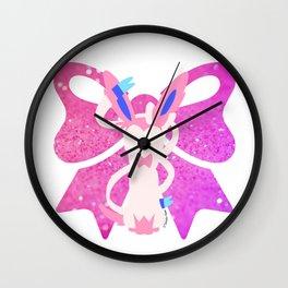 Minimal Sylveon Wall Clock